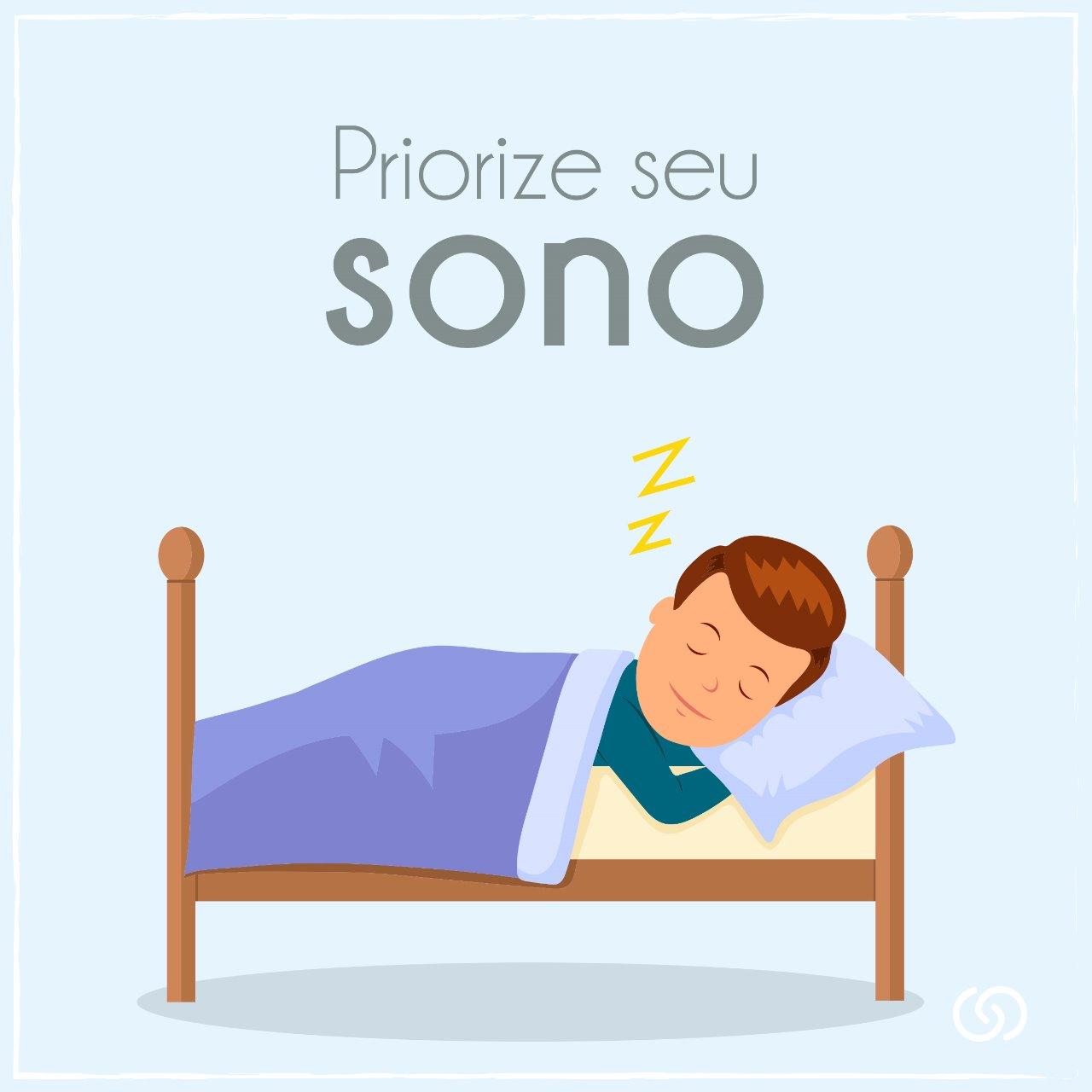 Priorize o seu sono