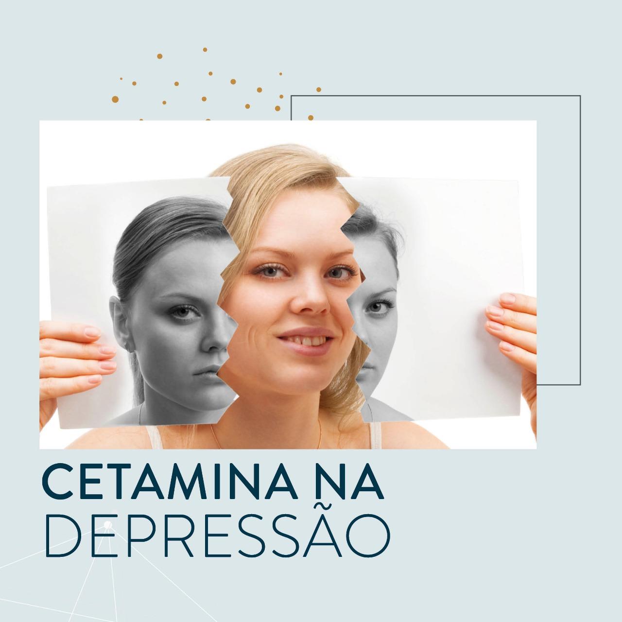 Cetamina na depressão