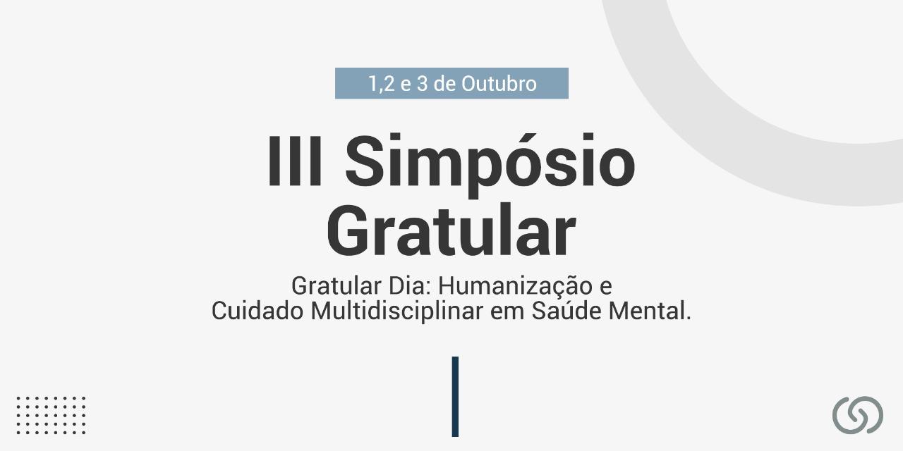 III Simpósio Gratular | Centro de Neurociências